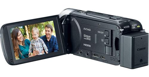 Behind the Canon VIXIA HF R400