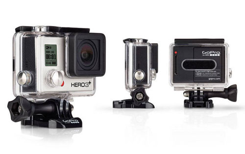 GoPro HERO3+ Silver Edition with Housing