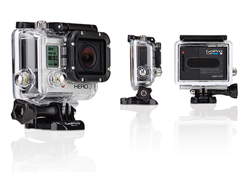 GoPro HERO3 Silver Edition with Housing