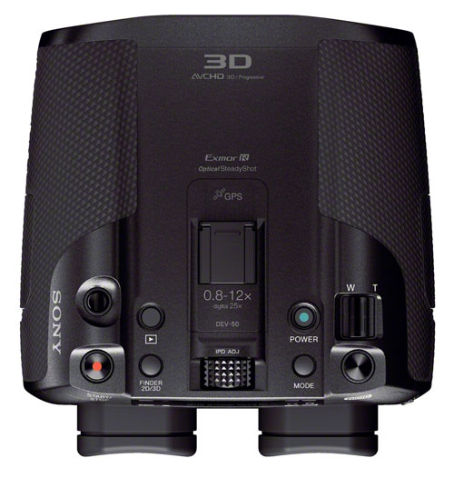 Sony DEV 50 Top View