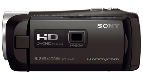 Sony HDR-PJ440 with Built-In Projector