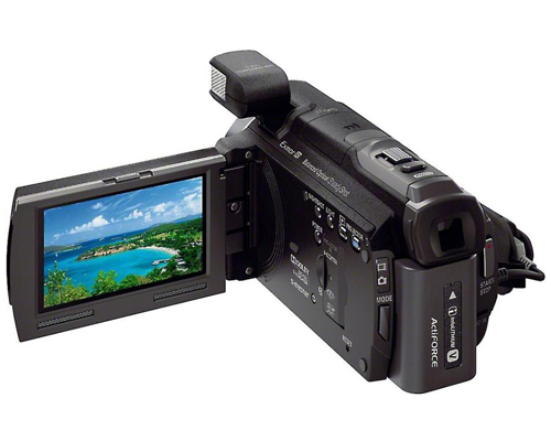 Behind the Sony HDR-PJ790V