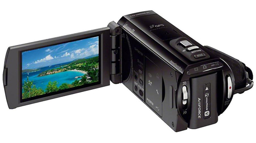 Behind the Sony HDR-TD30V