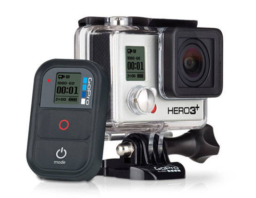 GoPro HERO3+ Black Edition with Wi-Fi Remote