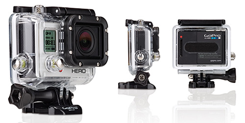 GoPro HERO3 White Edition in Housing
