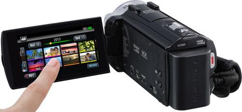 JVC GZ-EX515 Back View