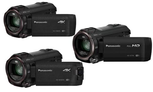 Panasonic 4K FHD camcorders