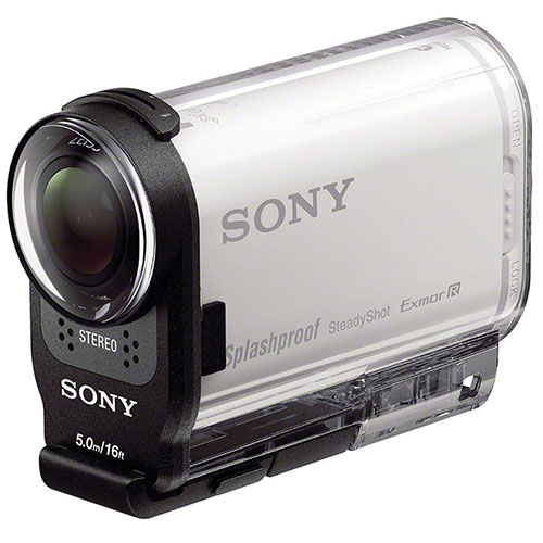 Sony HDR-AS200V with Waterproof Casing