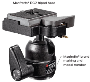Tripod Head from Manfrotto